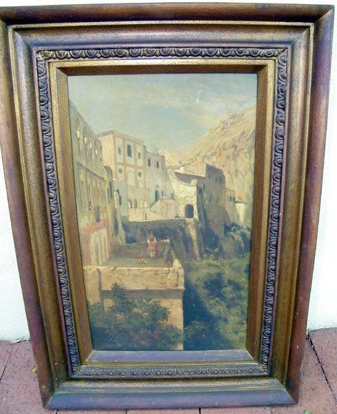 22: Edgar Barclay, Oil/Canvas.