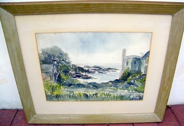 23: Jean Watson, Watercolor.