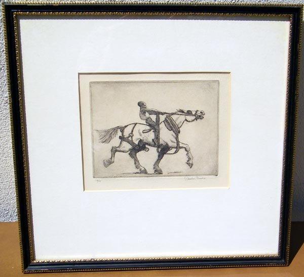 31: Edwin Tunis, Engraving.