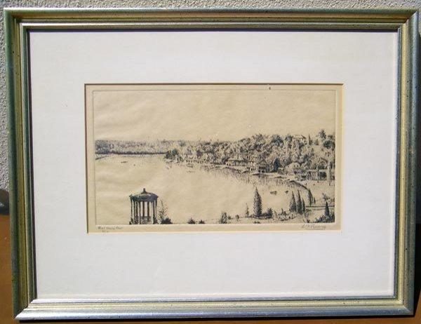 33: Ethel Louise Paddock, Engraving.