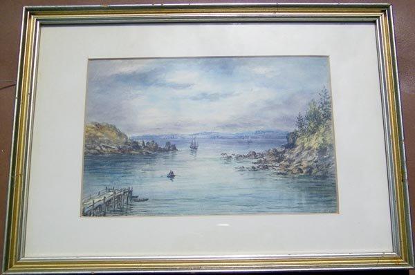 37: James Riddel, Watercolor,