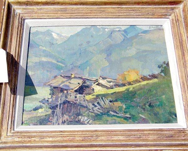 47:  Vladimir Shatalow, Oil/Canvas.
