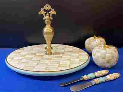 Mackenzie Childs Porcelain Grouping