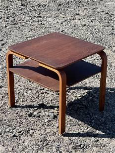 Danish Modern Teak Bentwood Stand