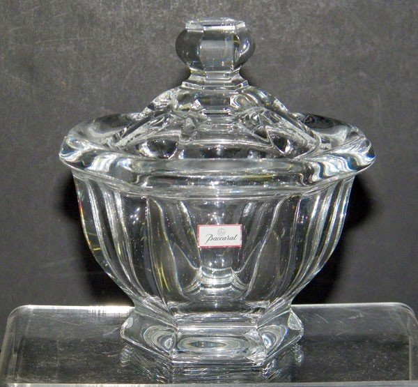 004: Baccarat Covered Candy Dish