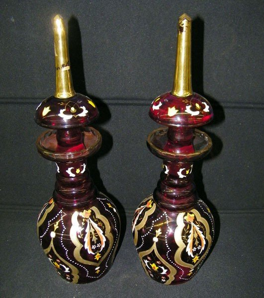 005: Pair of Decanters