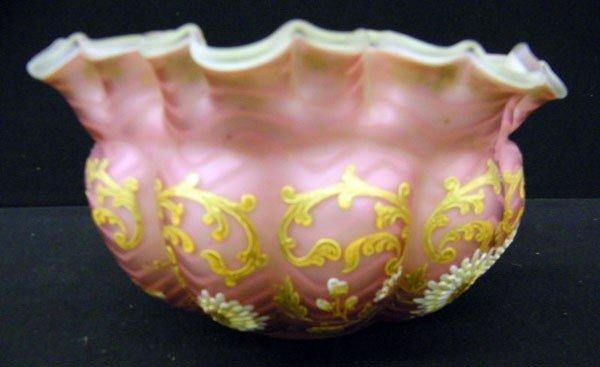 006: Satin Glass Bowl