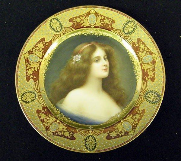 015: German Portrait Plate