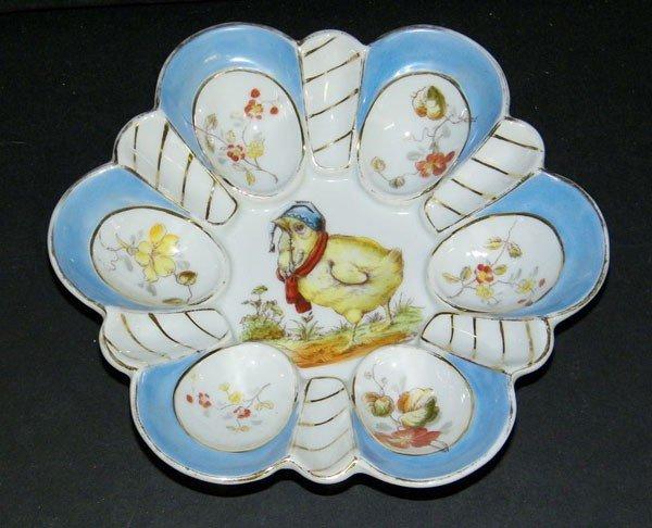 023: Leonard China Oyster Plate