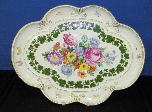 024: German Porcelain Platter