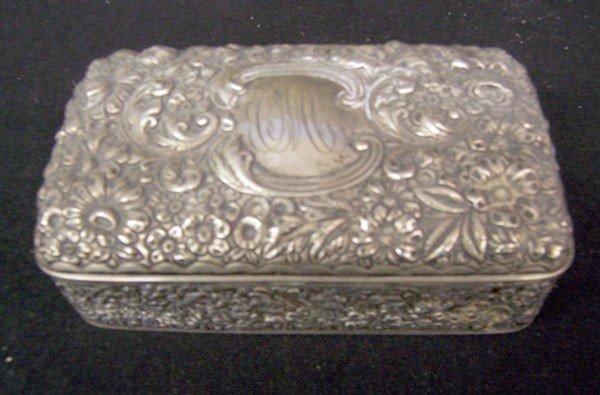 512: Gorham Sterling Box
