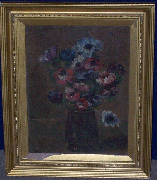 7: Leon Reingt-Pary. Oil/Canvas; Still Life