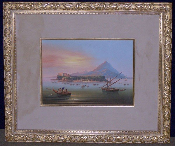 8: Unsigned. Watercolor; Landscape.