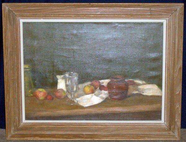 10: Remenick (Seymour Remenick). Oil/Canvas; Still Life