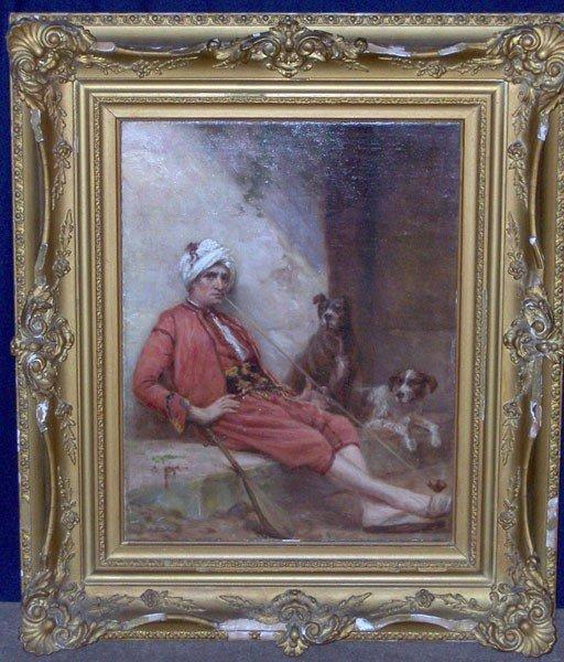 13: J.B. Sword (James Brade Sword). Oil/Canvas; Genre S