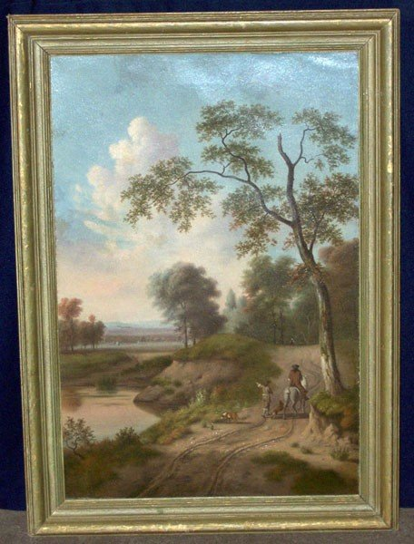 19: J. Greve. Oil/Canvas; Landscape.