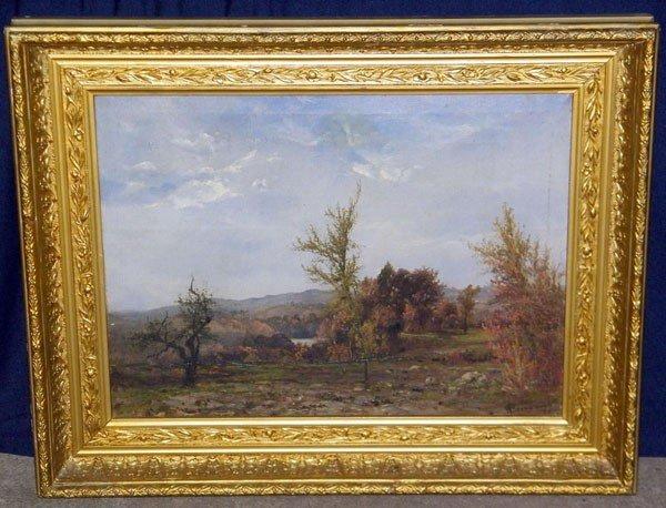 22: William Beaman. Oil/Canvas; Landscape.
