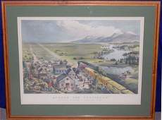 52 Currier  Ives drawn by FF Palmor Color Lithogr