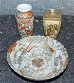 440 Three Pieces of Japanese Porcelain