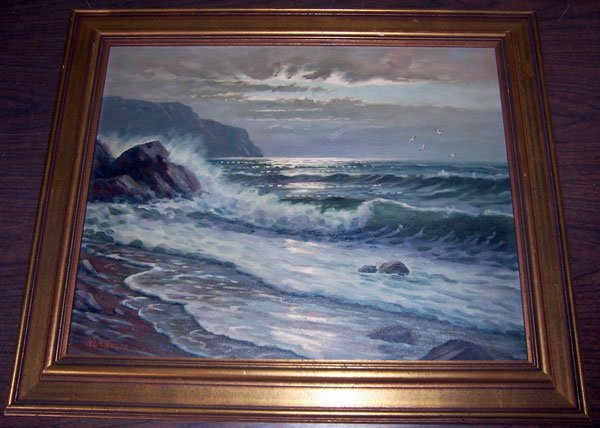 191: N. LaRocca, Oil/Board