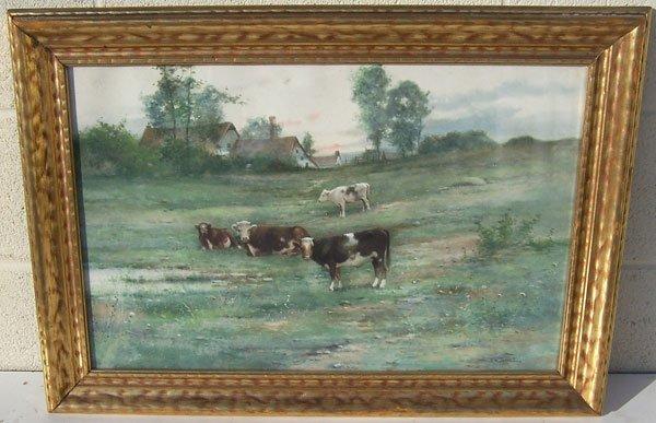 196: R.L. Johnston, Watercolor