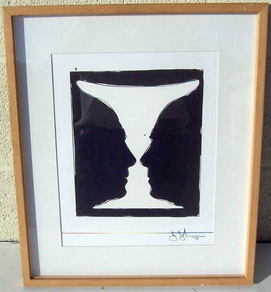 197: Jasper Johns, Lithograph