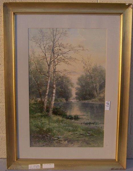 206: Carl Weber, Watercolor