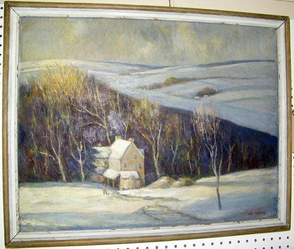207: Will Coffee, Oil/Canvas