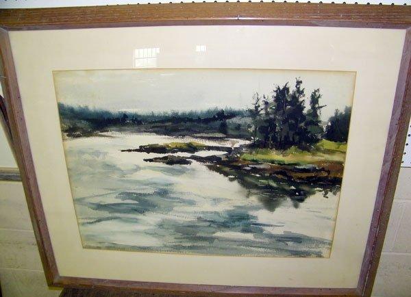 209: Jamison (Philip Jamison), Watercolor