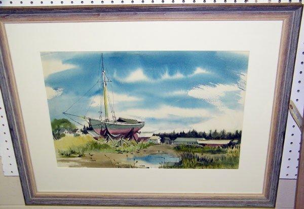 210: Jane Jamison, Watercolor