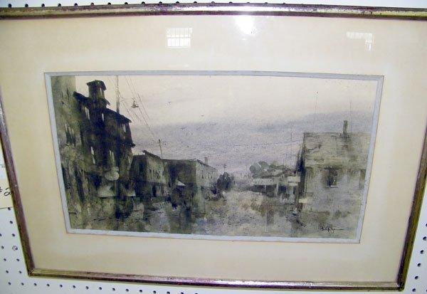 211: Philip Jamison, Watercolor