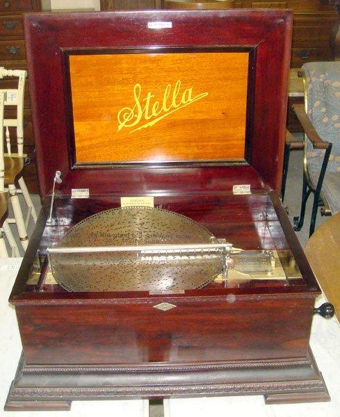 214: Stella Table-top Music Box