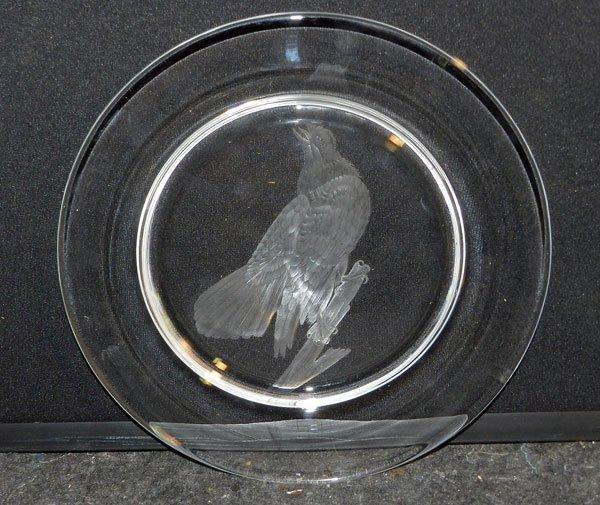 1: Steuben Eagle Plate