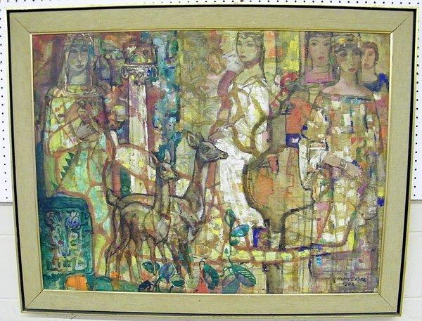1: Henry C. Pitz, Oil/Canvas