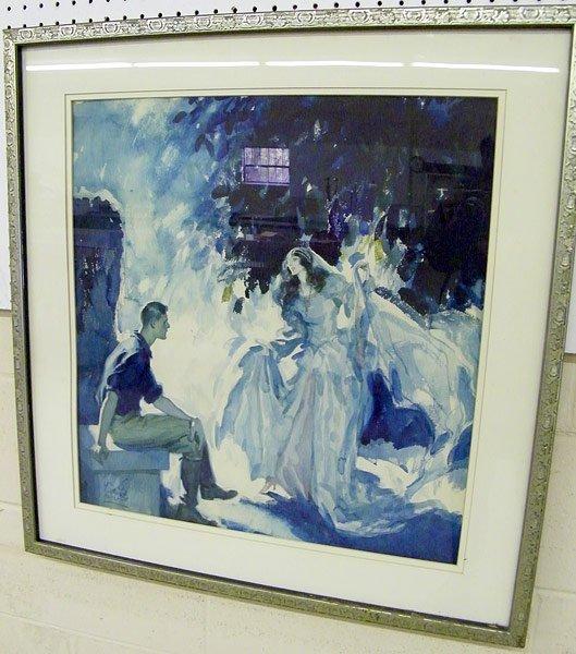 4: W. Emerton Heitland, Watercolor