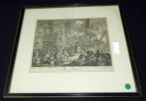 10: William Hogarth, Engraving