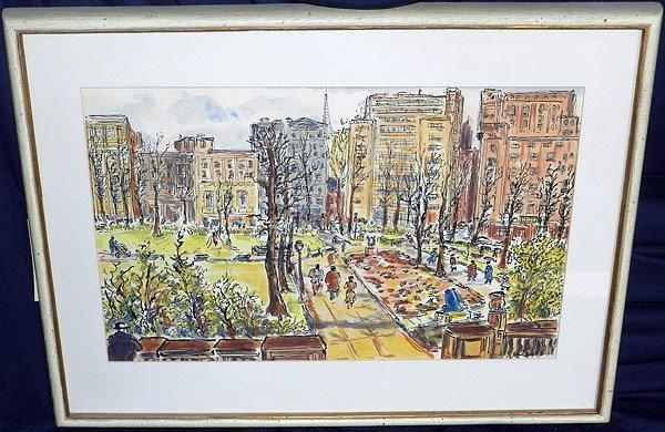 16: Jesse Soifer, Watercolor
