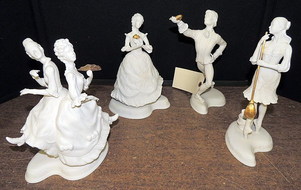 Lot of Four Boehm Ballerinas