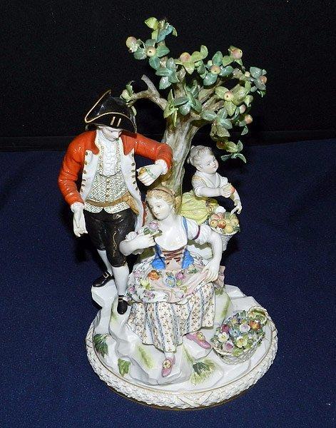 Meissen Fruit/Flowers Figurine