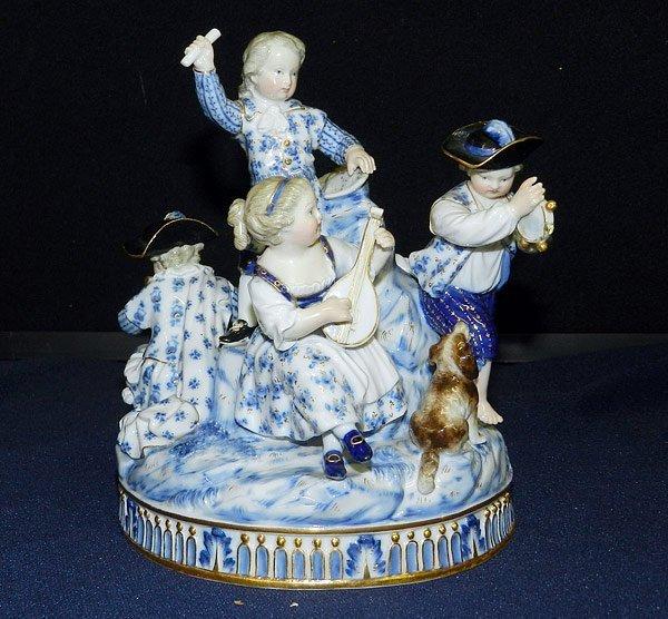 Meissen Musical Children Figurine