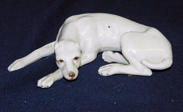 Meissen Dog Figurine