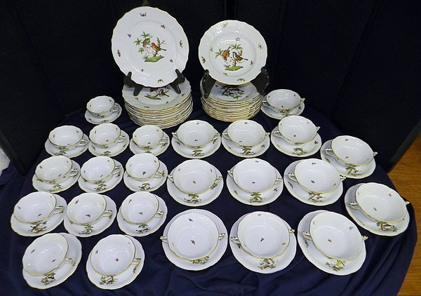 12 Herend China Place Settings