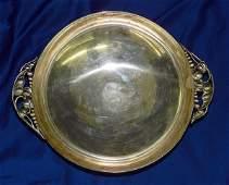 Danish Modern Sterling Bowl.