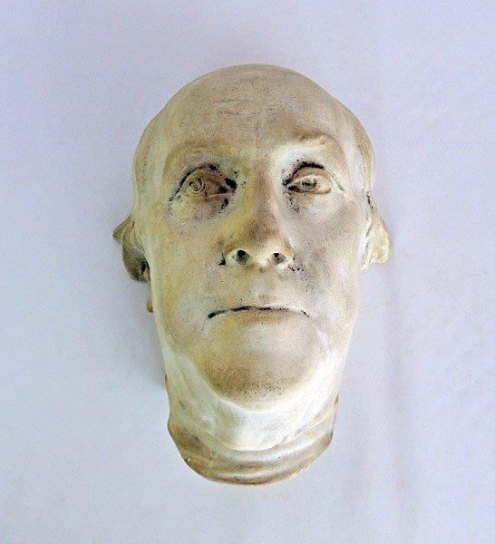 Unglazed Pottery Mask