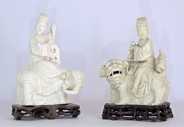 Chinese Blanc-de-Chine Porcelain
