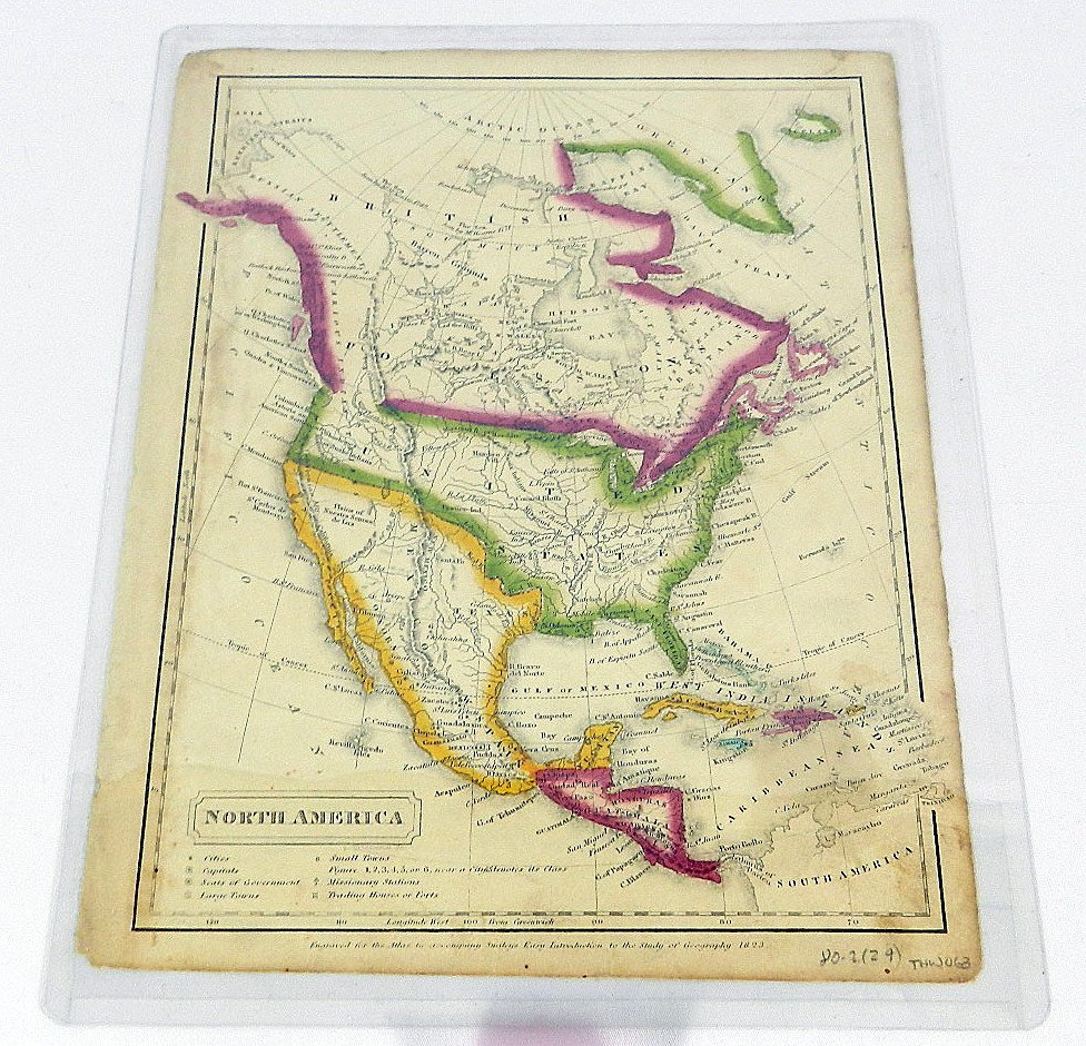 Two 19th C. Maps of North America
