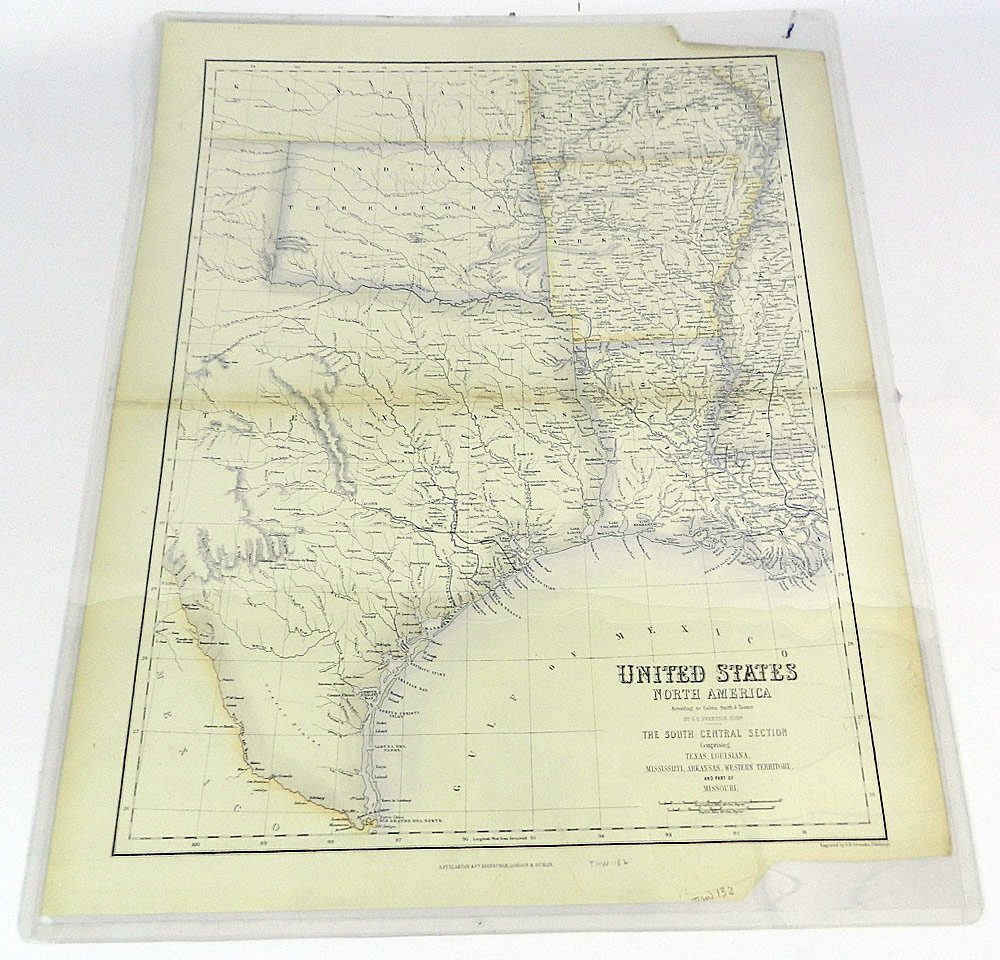 Four 19th C. Maps of the United States
