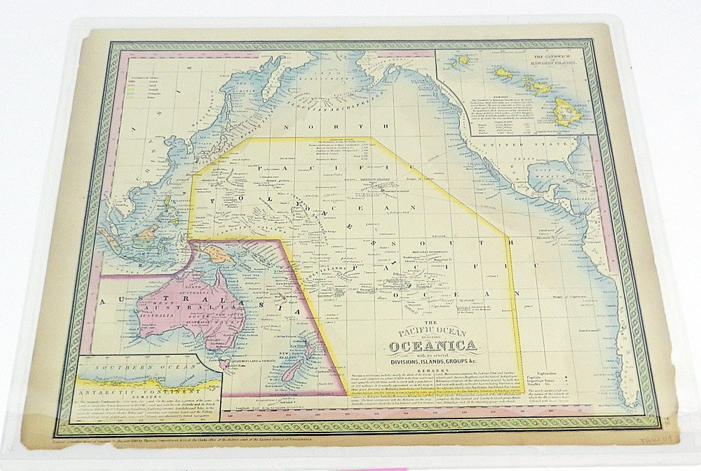 Two 19th C. Maps of Oceanica