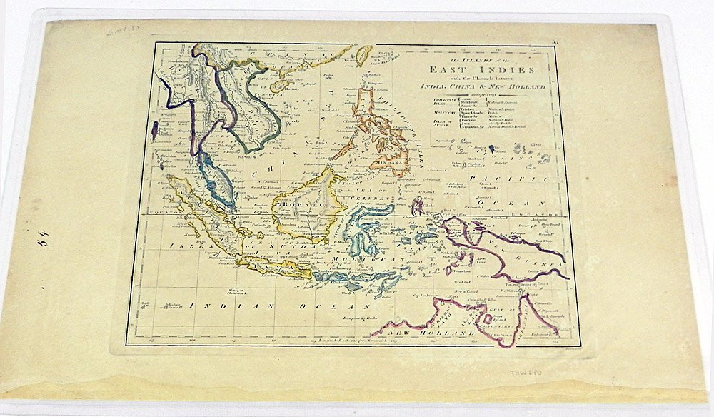 Two 19th C. Maps of the East Indies