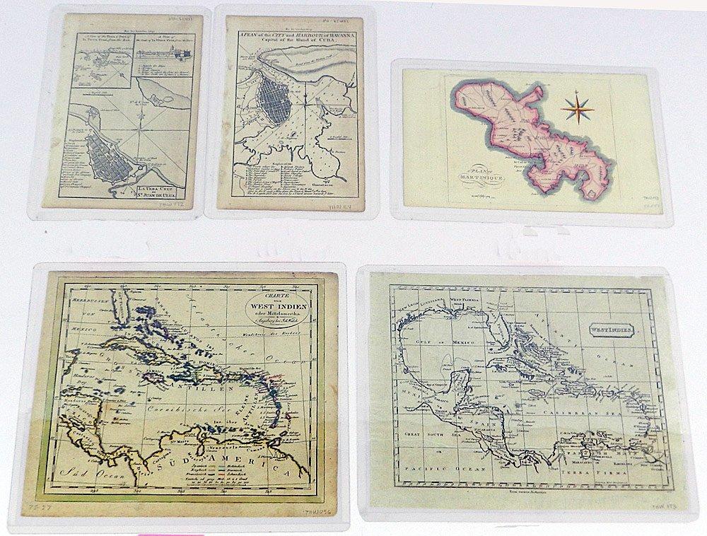 Ten Maps of the West Indies